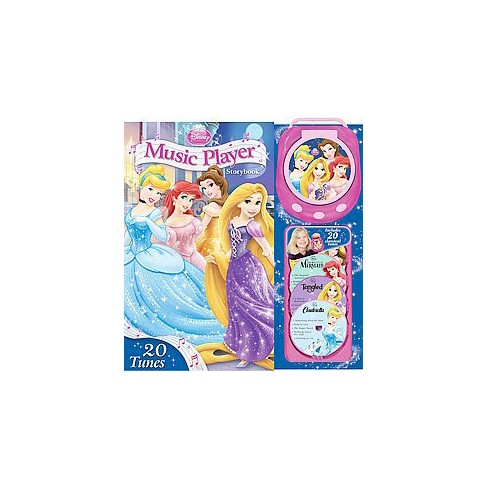 disney princess music player storybook hardcover by reader s