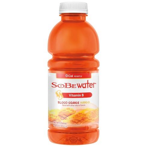 SoBe Lifewater 0 Cal Blood Orange Mango Vitamin Enriched Water - 20 fl oz Bottle - image 1 of 3