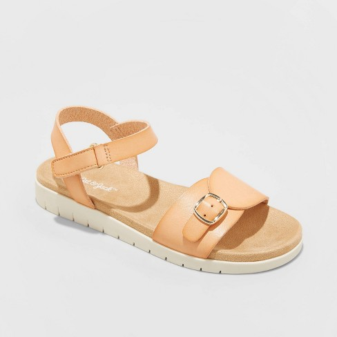 Girls' Armine Footbed Sandals - Cat & Jack™ - image 1 of 3