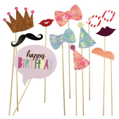 12ct Party Photo Props - Spritz™ - image 1 of 1