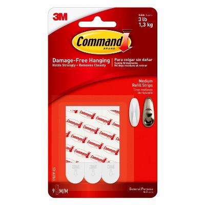 Command® Medium Mounting Strips - 9pk