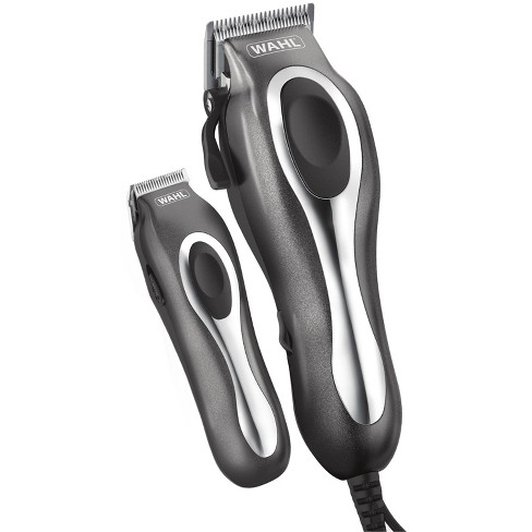 Wahl Deluxe Chrome Pro Complete Men's Haircut Kit with  Finishing Trimmer & Soft Storage Case - 79650-1301 - image 1 of 3