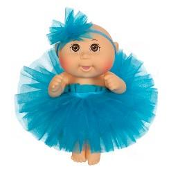 """Cabbage Patch Kids Tiny Newborn Baby Doll - Blue Tutu - Brown Eyes 9"""""""