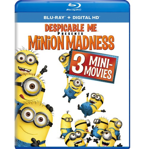 Despicable Me Presents:Minion Madness (Blu-ray) - image 1 of 1
