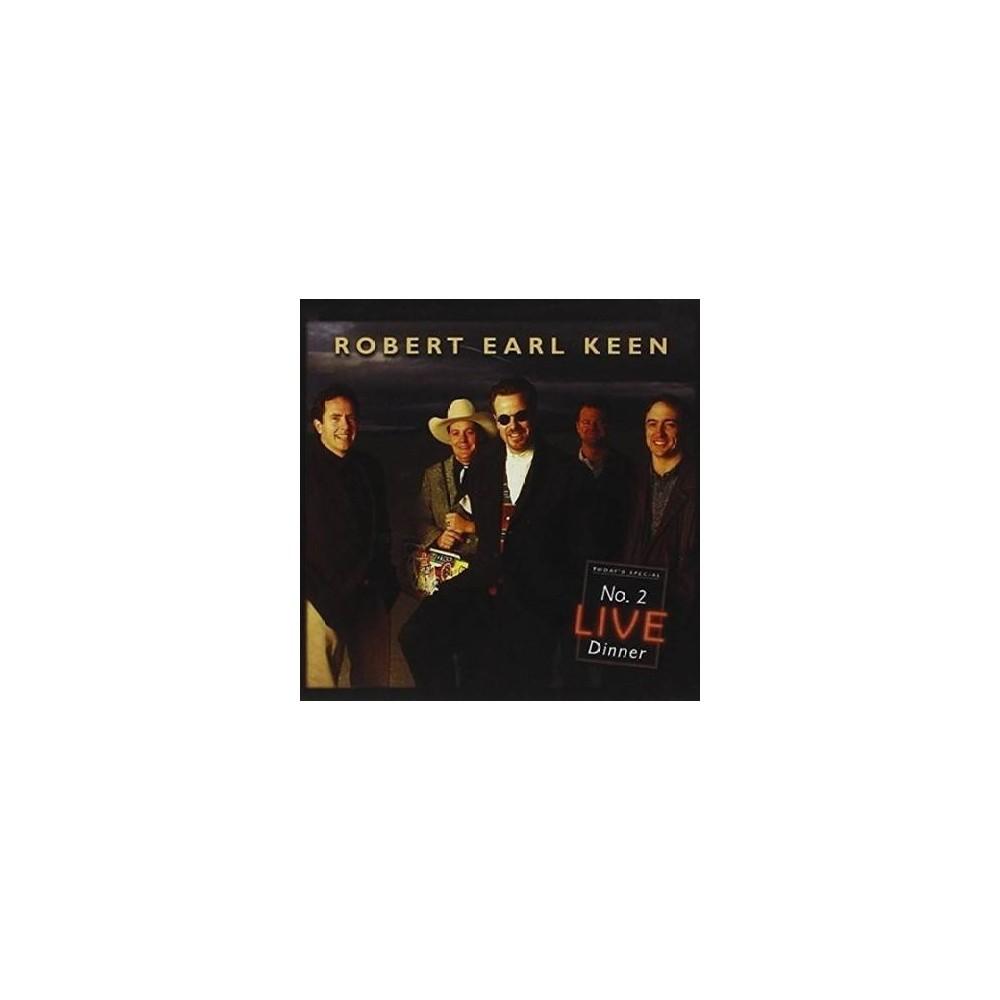 Robert Earl Keen - No 2 Live Dinner (Vinyl)