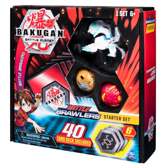 Bakugan Battle Brawlers Starter Set with Bakugan Transforming Creatures Haos Howlkor image number null