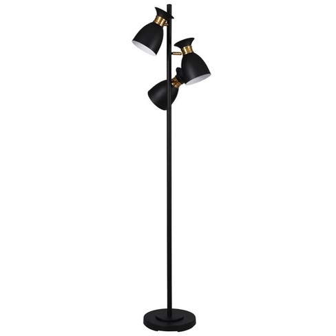 Arvin LED Floor Lamp Black (Includes Energy Efficient Light Bulb) - Stylecraft - image 1 of 1