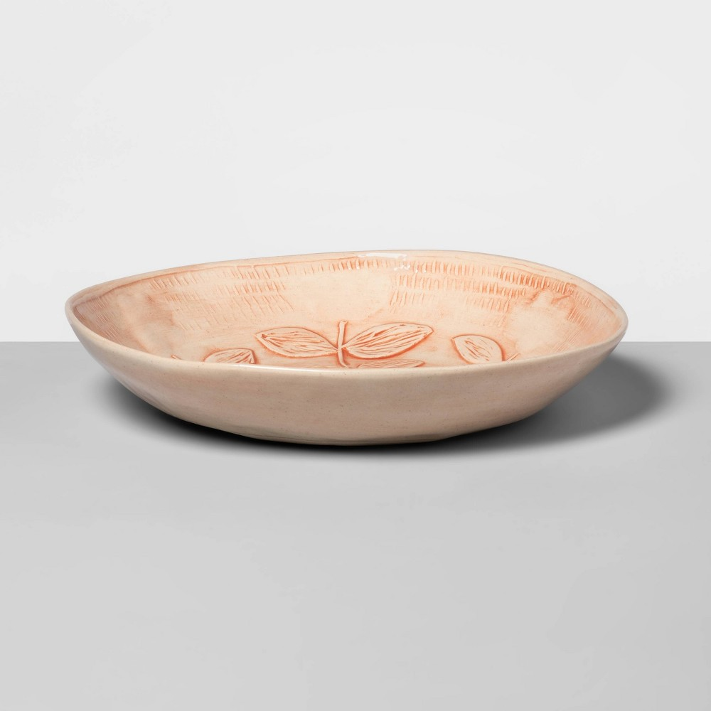 "Image of ""10.6"""" x 4.3"""" Ceramic Round Serving Bowl Pink - Wonki Ware for Opalhouse"""