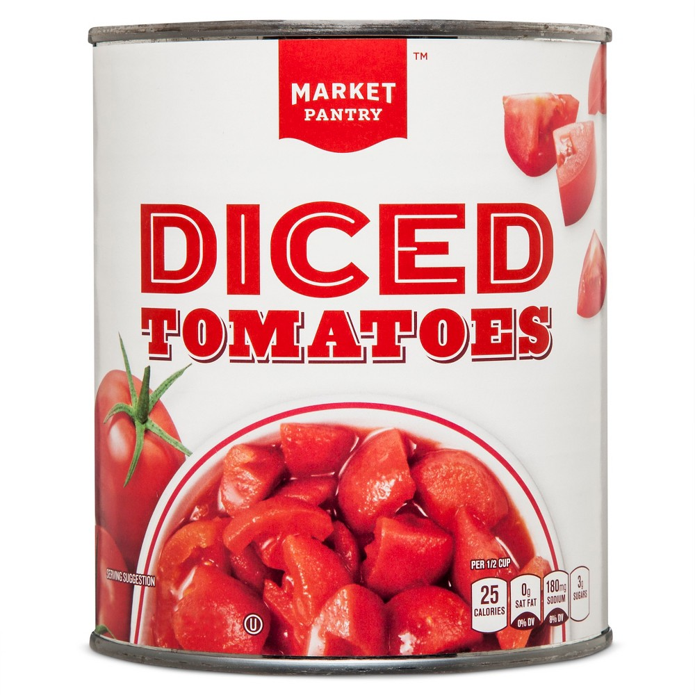 Diced Tomatoes 28 oz - Market Pantry