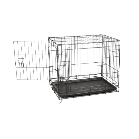 Carlson Two Door Wire Cat And Dog Crate With Divide Target