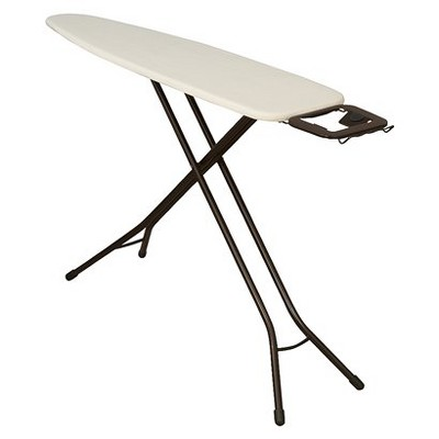 Household Essentials Natural Cover 4-Leg Ironing Board
