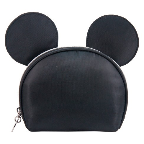 46836ae480 Disney Mickey Mouse   Friends Vintage Mickey Ear Round Top Cosmetic Bag    Target