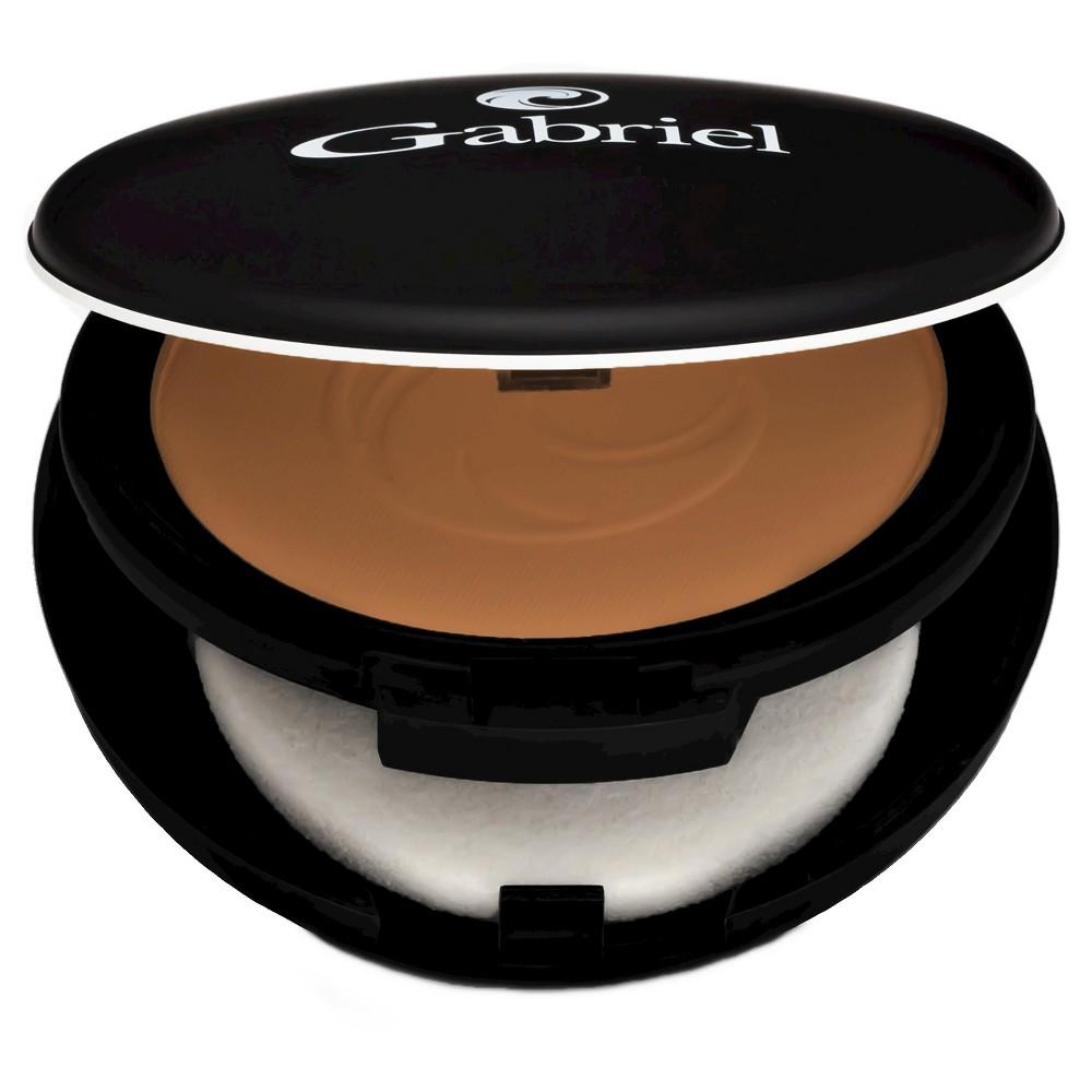 Image of Gabriel Cosmetics Dual Powder Foundation - Deep Beige, Size: .32oz