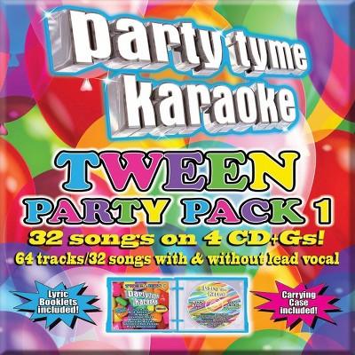 Party Tyme Karaoke- Tween Party Pack, Vol. 1 (CD)
