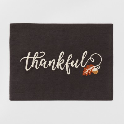 Thankful Placemat - Threshold™