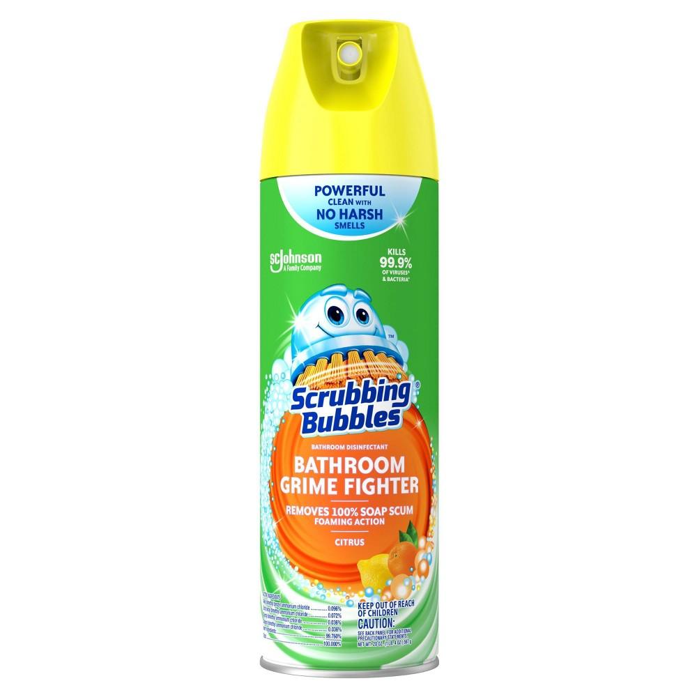 Scrubbing Bubbles Penetrating Foam Bathroom Cleaner - Citrus Scent - 20oz