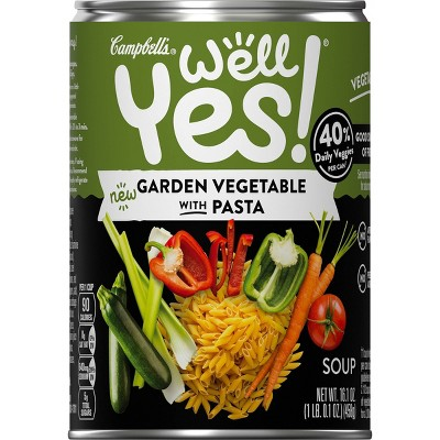 Campbell's Well Yes! Vegetable Noodle Soup Lightly Salted - 16.1oz