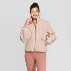 Women's Sherpa Full Zip Jacket - JoyLab™
