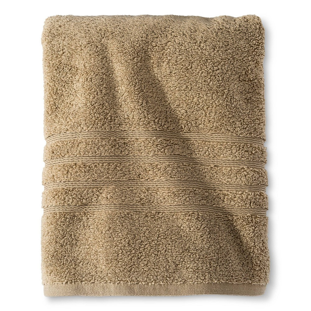 Luxury Bath Towel Light Taupe Fieldcrest 8482