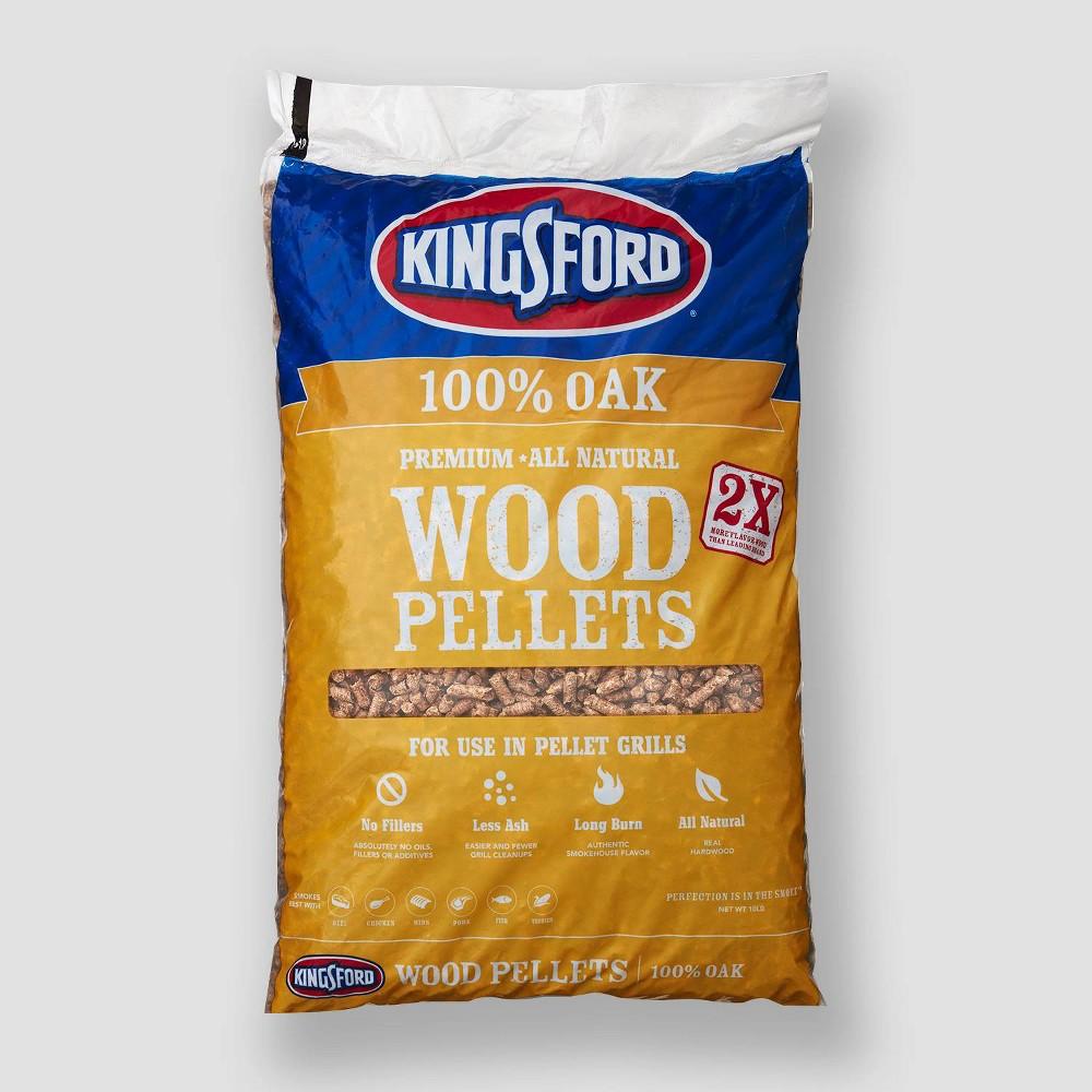 Kingsford 100% Oak Wood Pellets - 10lb, Black