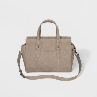 Carter Satchel Handbag - Universal Thread™ Taupe Brown