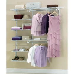 Rubbermaid Configurations Closet Organizer 3'-6' Deluxe Kit - White | 3H88