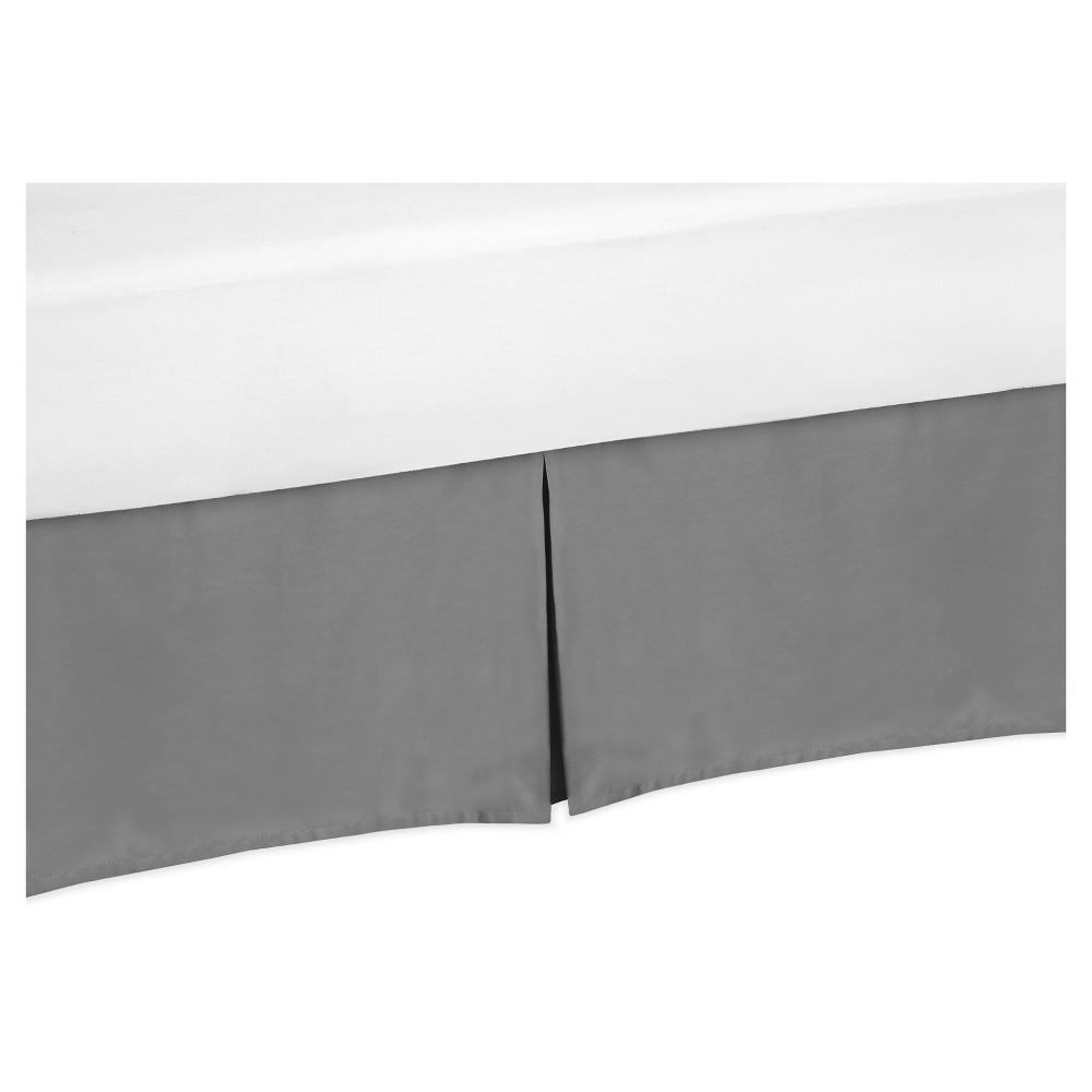 Gray Bed Skirt - Sweet Jojo Designs