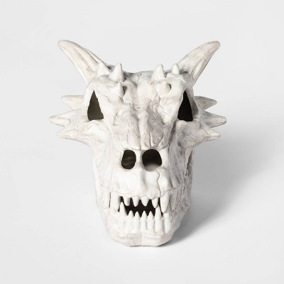 Light-Up Color Changing Dragon Skull Decorative Halloween Prop - Hyde & EEK! Boutique™