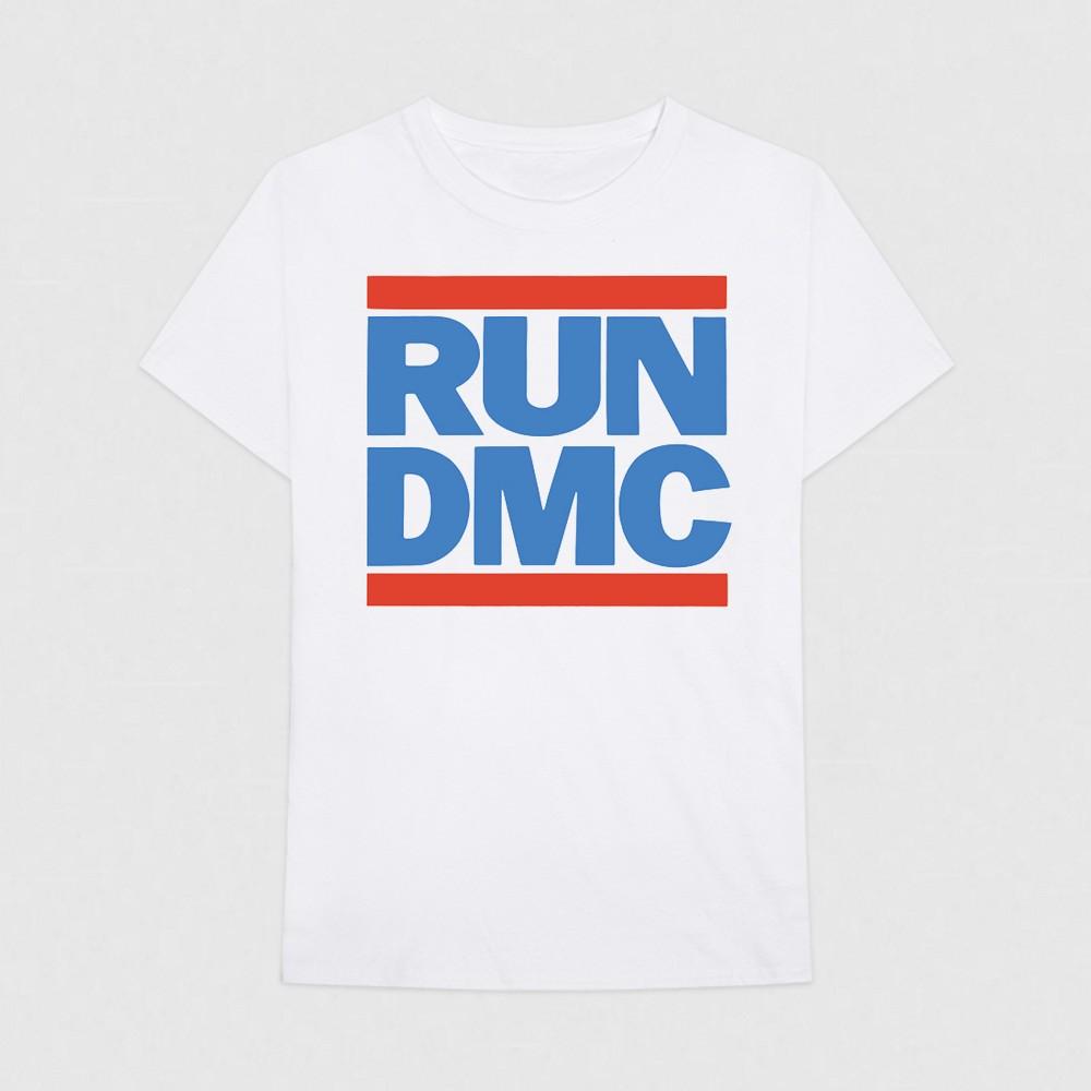 Men's Run--Dmc Short Sleeve T-Shirt - White XL