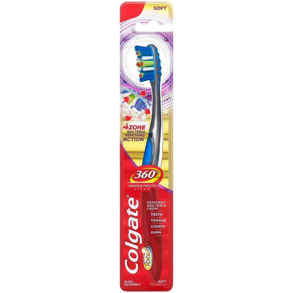 Colgate 360 Advanced 4 Zone Toothbrush Soft - 1ct