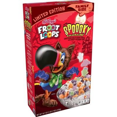 Froot Loops Spooky Cereal - 18.7oz