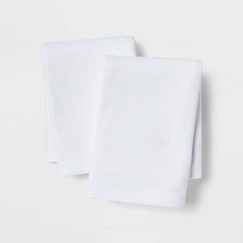 Solid Cozy Jersey Pillowcase Set - Threshold™ - image 1 of 4
