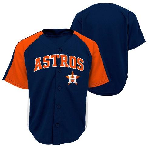03a06021d406e MLB Houston Astros Boys  Infant Toddler Team Jersey   Target