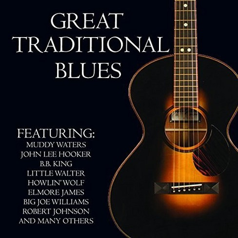 Various - Great Traditional Blues (CD) - image 1 of 1