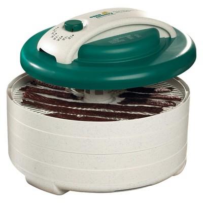 Open Country FD-62BJX Sportsmans 500 Watt Kitchen 4 Tray Trailmaster Food Dehydrator Dryer and Jerky Maker