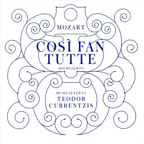 Teodor currentzis - Mozart:Cosi fan tutte (Highlights) (CD) - image 1 of 1