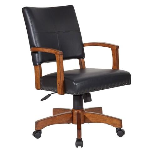 Wood Bankers Chair Black Osp Home Furnishings Target