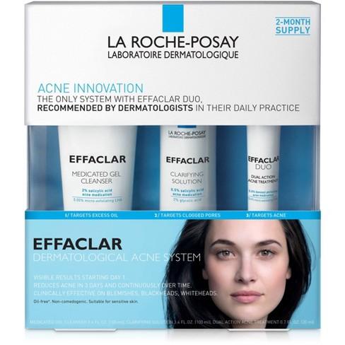La Roche-Posay Effaclar Dermatological 3-Step Acne Treatment System - 7.5oz - image 1 of 4