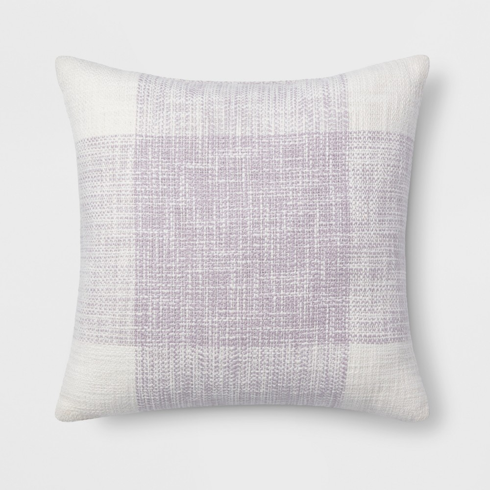 Super Plaid Square Throw Pillow Lavender Purple Threshold Andrewgaddart Wooden Chair Designs For Living Room Andrewgaddartcom