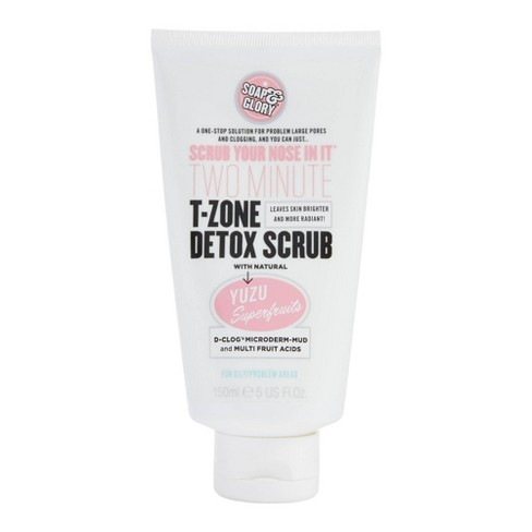 Soap & Glory Scrub Your Nose In It Two-Minute T-Zone Detox Scrub - 5 fl oz - image 1 of 4