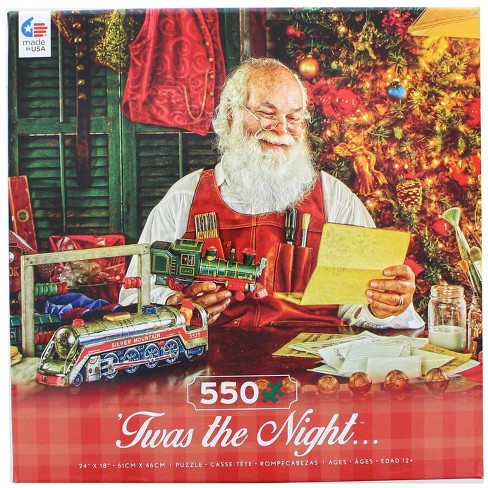 Ceaco, Inc Twas the Night 550 Piece Christmas Jigsaw Puzzle - image 1 of 3