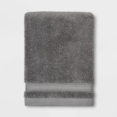 Performance Washcloth Dark Gray - Threshold™
