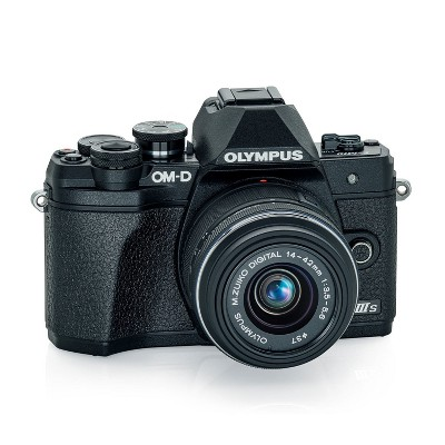 Olympus E-M10 Mark IIIs with M.Zuiko Digital 14-42mm f/3.5-5.6 IIR Lens (Black)