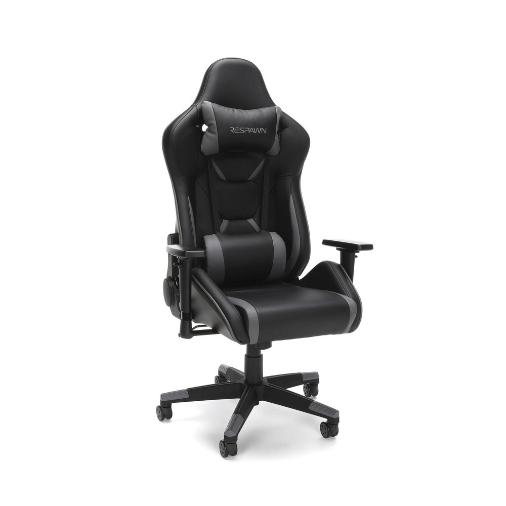 Image of 120 Racing Style Gaming Chair Gray - RESPAWN