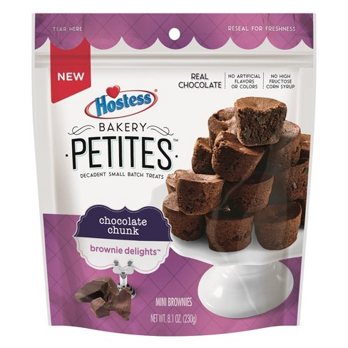 Hostess Bakery Petites Chocolate Chunk Brownie Delights - 8.1oz - image 1 of 1