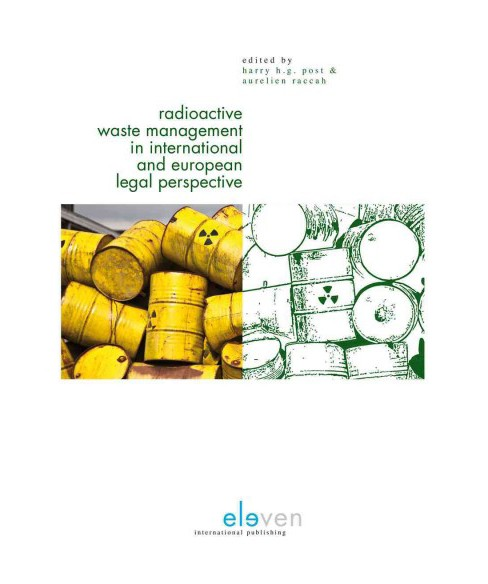 Radioactive Waste Management in International and European Legal Perspective (Paperback) - image 1 of 1