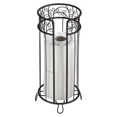 Twigz Ivy Scroll Toilet Tissue Reserve Bronze - InterDesign®