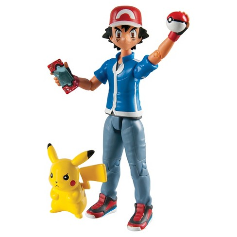 Pokémon Ash and Pikachu Action Figure - image 1 of 1