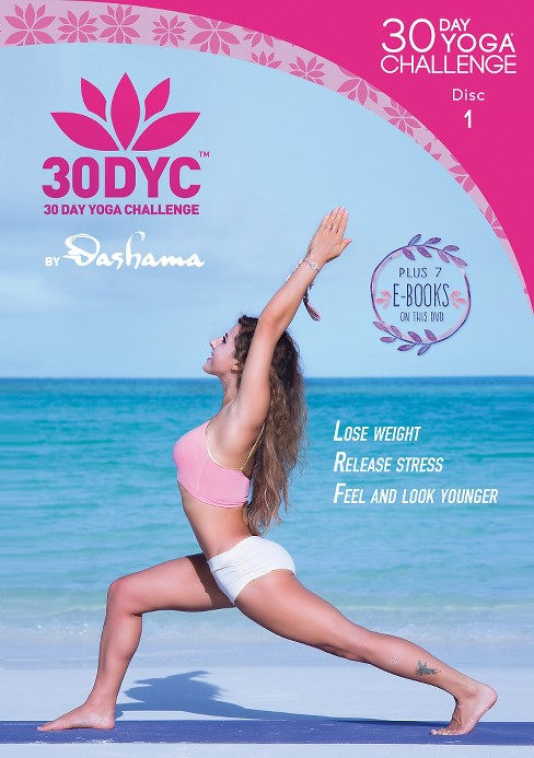 30dyc:30 day yoga challenge with dash (DVD) - image 1 of 1