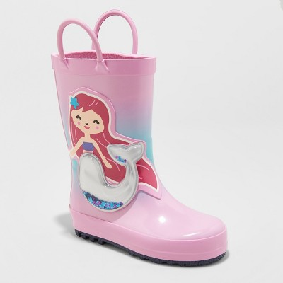 5f9fd084193 Toddler Girls  Kalista Rain Boots - Cat   Jack™ Pink